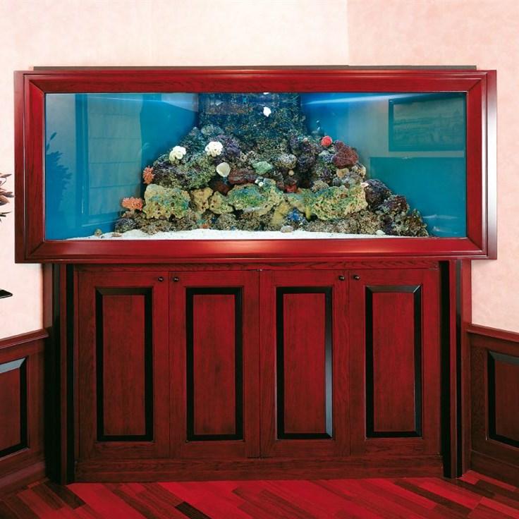 西安红木(实木)鱼缸