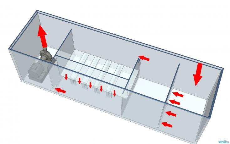 欧式超白玻璃鱼缸设计图纸200X70X100 西安观赏鱼信息 西安博特第4张