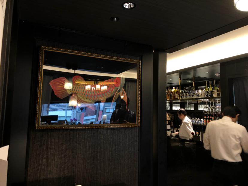 参观薛浩在日本银座的画作 西安龙鱼论坛 西安博特第2张