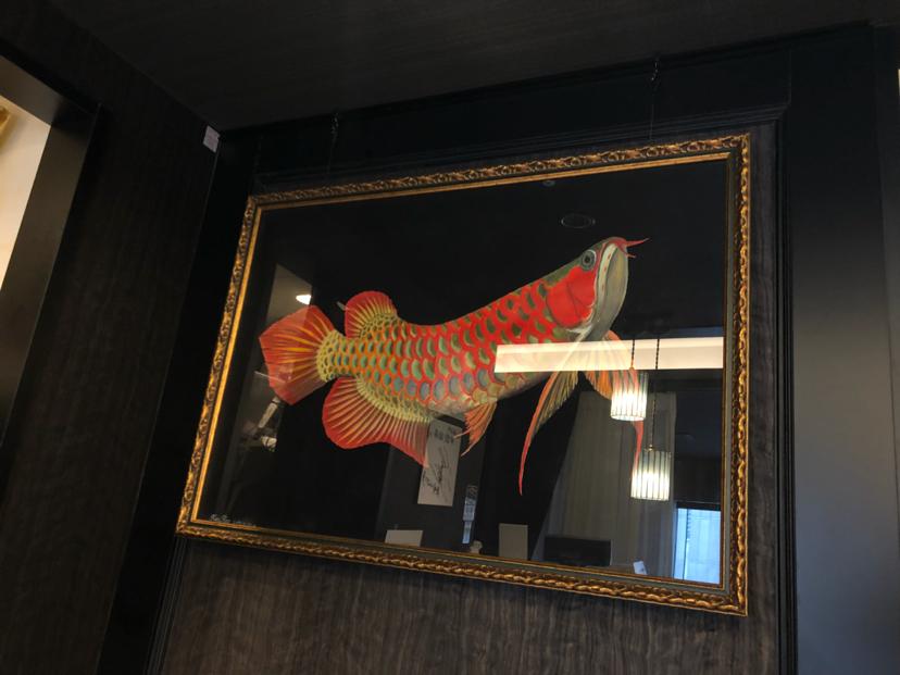 参观薛浩在日本银座的画作 西安龙鱼论坛 西安博特第3张