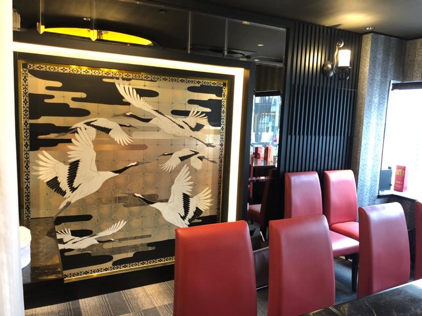 参观薛浩在日本银座的画作 西安龙鱼论坛 西安博特第4张
