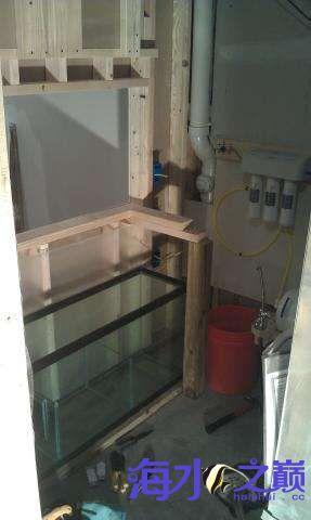 海水缸整体完工 西安观赏鱼信息 西安博特第2张