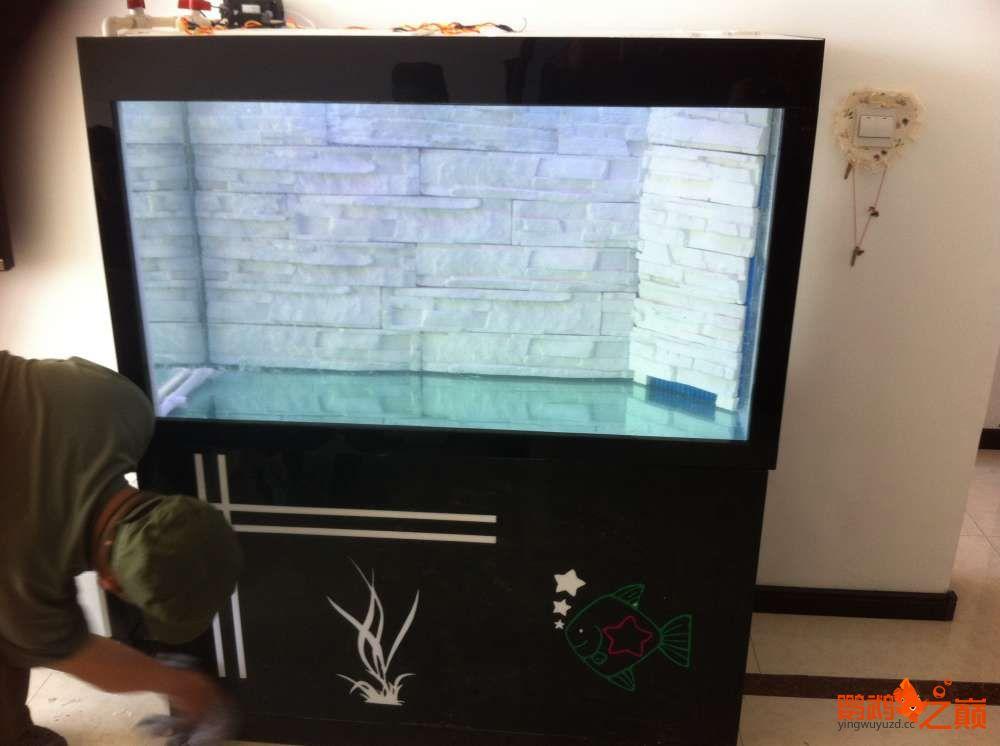 帮朋友DIY 2个小缸 刚完工12米x05米x06米高 西安龙鱼论坛 西安博特第8张