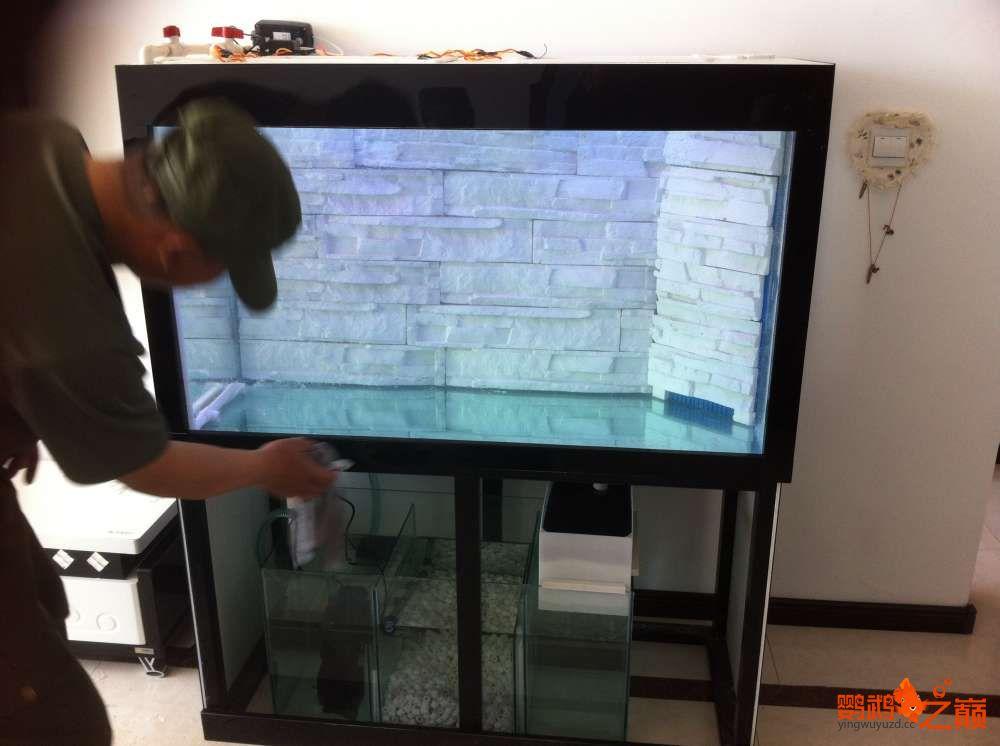 帮朋友DIY 2个小缸 刚完工12米x05米x06米高 西安龙鱼论坛 西安博特第6张
