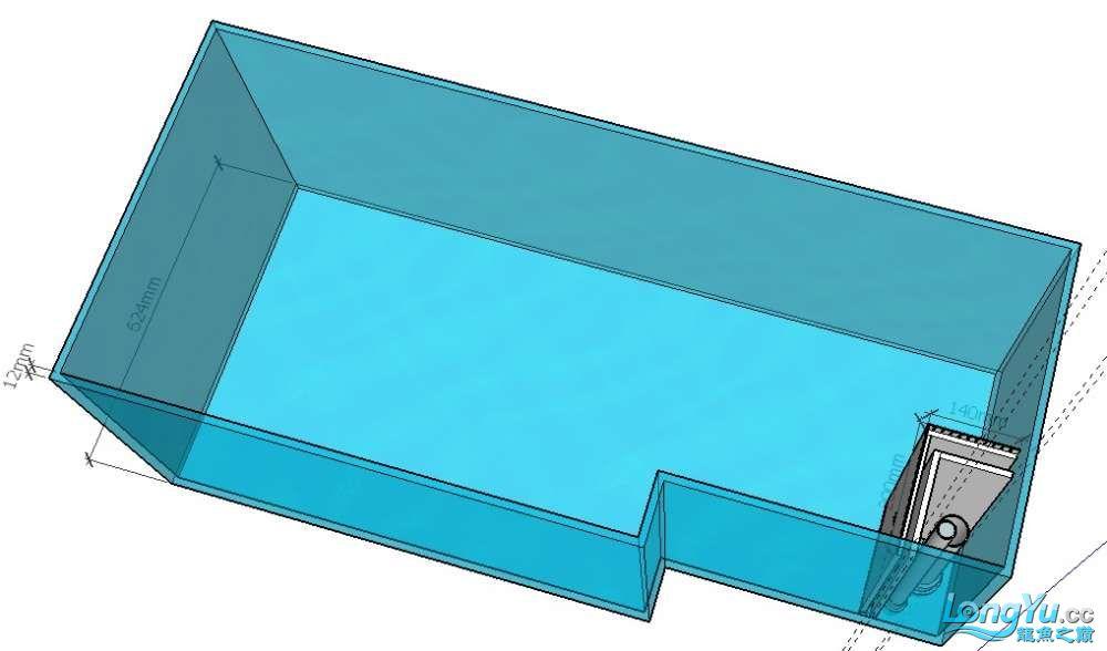简单设计了一个鱼缸请前辈们把【西安伊巴卡鱼】把关 西安龙鱼论坛 西安博特第1张