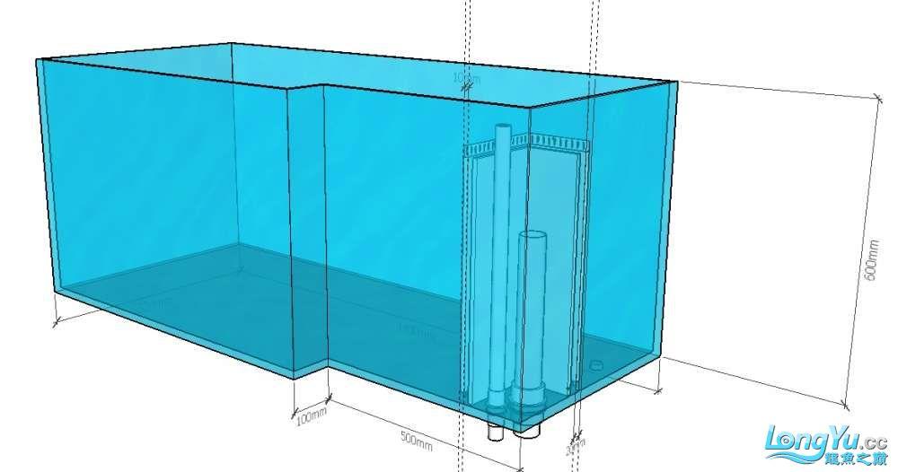 简单设计了一个鱼缸请前辈们把【西安伊巴卡鱼】把关 西安龙鱼论坛 西安博特第2张