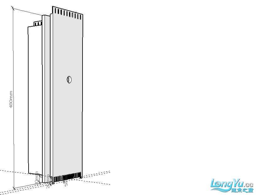 简单设计了一个鱼缸请前辈们把【西安伊巴卡鱼】把关 西安龙鱼论坛 西安博特第5张