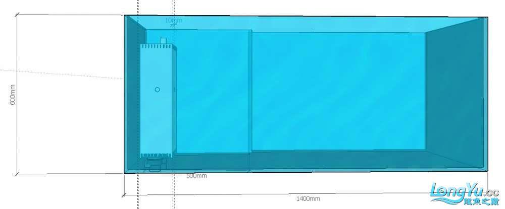 简单设计了一个鱼缸请前辈们把【西安伊巴卡鱼】把关 西安龙鱼论坛 西安博特第4张