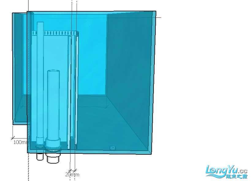 简单设计了一个鱼缸请前辈们把【西安伊巴卡鱼】把关 西安龙鱼论坛 西安博特第3张