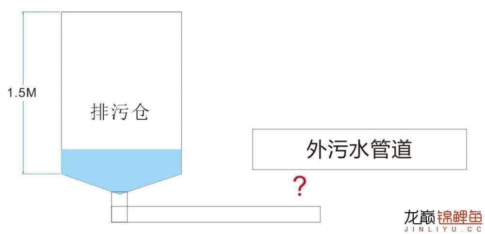 【西安飞凤鱼】有做鱼池的鱼友吗?我想问一下街道排污管高过鱼池 西安龙鱼论坛 西安博特第1张